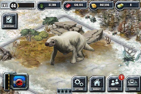 Kaprosuchus Jurassic Park Builder