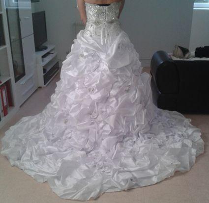 Robe de mariée Divina Sposa avec strass Swarovski doccasion à ...