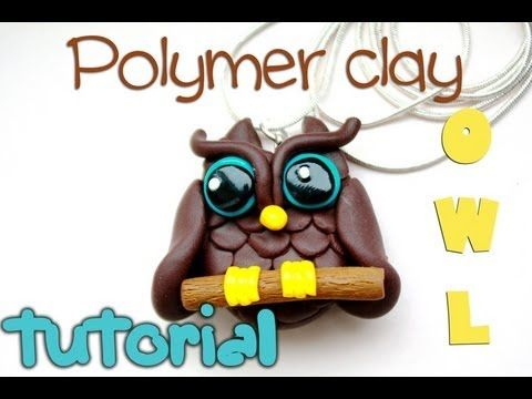 Polymer clay owl TUTORIAL