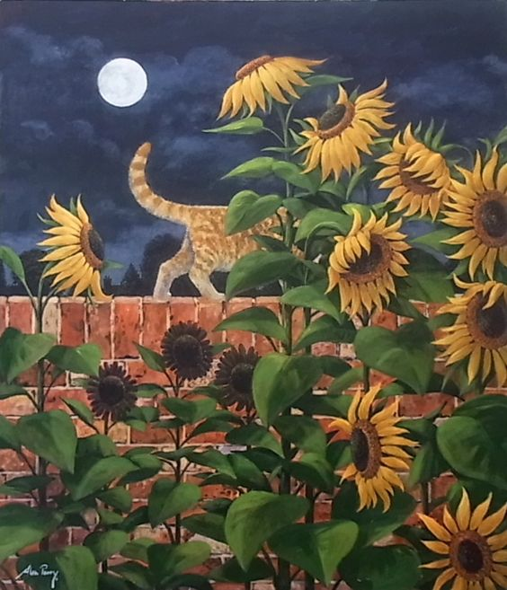 Alan Parry — Cat  Walk (817x953):
