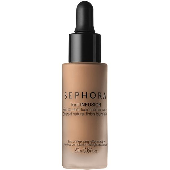SEPHORA COLLECTION Teint Infusion Ethereal Natural Finish Foundation (33 CAD) ❤ liked on Polyvore featuring beauty products, makeup, face makeup, foundation, sephora collection and moisturizing foundation