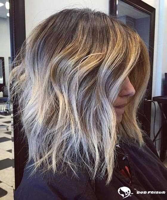 Long bob frisuren dickes haar