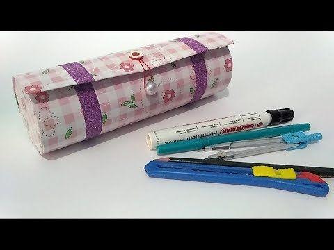 Cara Membuat Tempat Pensil Dari Kalender Dan Kardus Bekas Ide