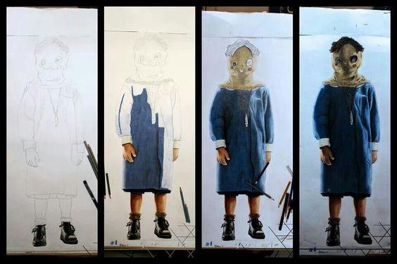 Collage Tomas - El Orfanato / The Orphanage - Mauricio Vilchex