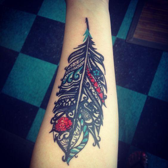 My new tattoo done at surreal tattoo in kansas city for Kansas city tattoo