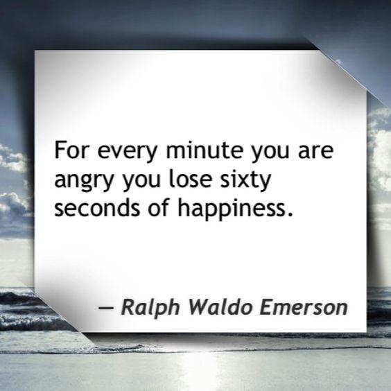 Anger accomplishes nothing.
