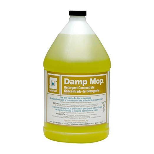 1 Gallon Spartan Damp Mop Cleaner 4 Per Case Review Cleaning Household Mops Damp