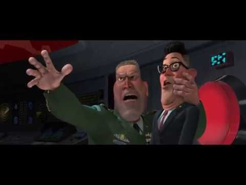 Monsters Vs Aliens President Scream Miss Ronson Youtube Monsters Vs Aliens Alien Outpost Movie Monsters