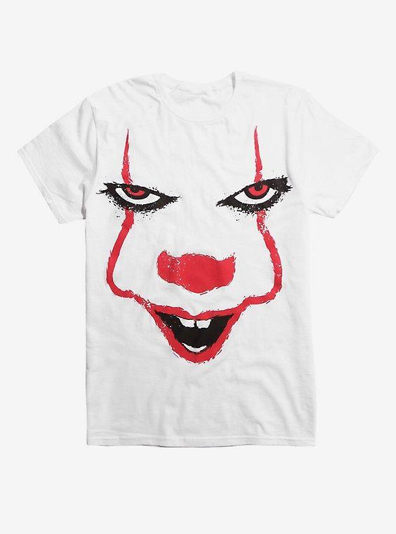 Psycho Clown Joker Face 3//4 Raglan Tee Funny Halloween 2017 Costume Jersey