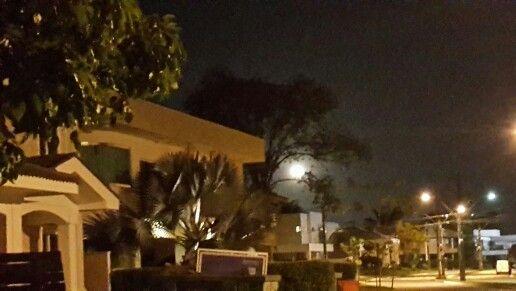 Noite de lua.