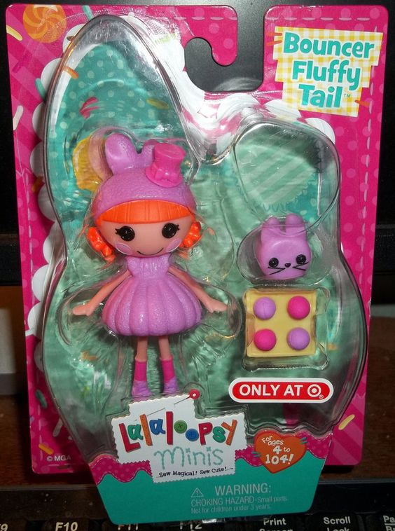 Lalaloopsy* BOUNCER FLUFFY TAIL MINI DOLL- Exclusive 2015 ... Lalaloopsy Dollop Light N Fluffy