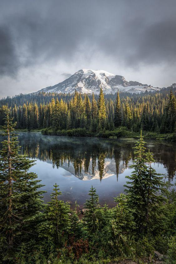 Mount Rainier National Park, Washington; photo by .Darren Neupert #travel #photography #places