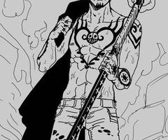 One Piece! Trafalgar Law... Yes, more of this please...