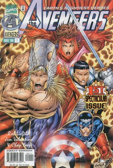 Heróis Renascem: Vingadores