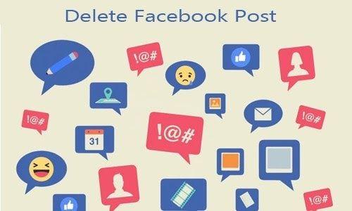 Delete Facebook Post Facebook Post How To Delete A Facebook Post In 2020 Delete Facebook Facebook Posts Social Media Guide