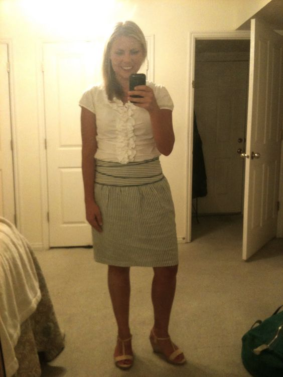 Teacher's outfit. One I would wear