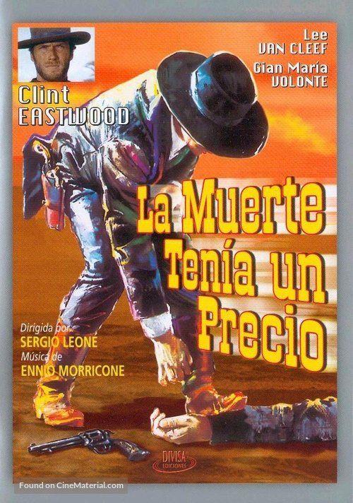 C La Muerte Tenía Un Precio Sergio Leone Lub De Cine Películas Del Oeste Afiche De Cine Carteles De Cine
