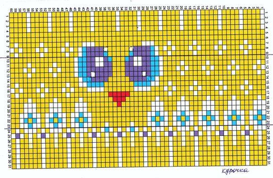 Петушок с курочкой | biser.info - всё о бисере и бисерном творчестве