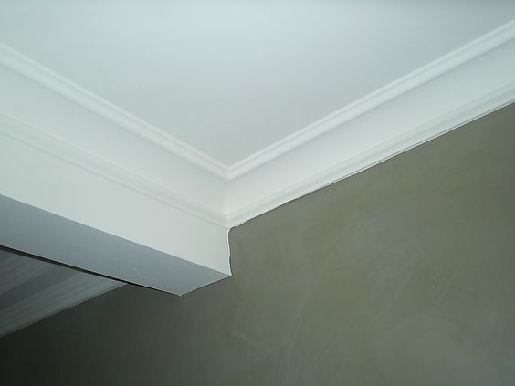 Sierlijsten plafond woonkamer pinterest for Plafond sierlijst