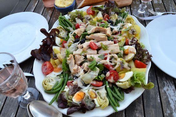 Salat nicoise Rezept Nizza Salat