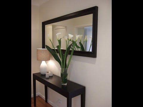 أفكار وتصاميم راقية لتزيين مدخل البيت Superbes Deco Pour Entrees Maisons Youtube Home Decor Home Oversized Mirror