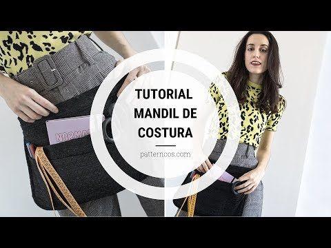 Tutorial Mandil De Costura Al Estilo De Los Aprendices De Maestros De La Costura Youtube Costura Mandil Patrones De Costura De Bolsas