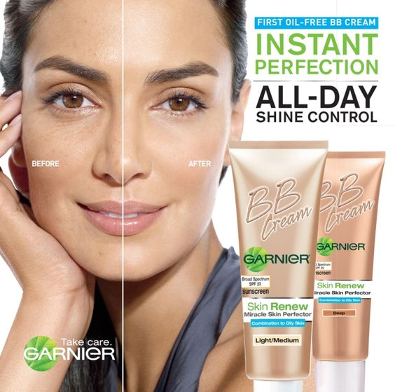 Quick coverage for everyday - Garnier BB Cream.  (Kelli: This is what I use most days.  After I put this on, I dust over it with E.L.F. color correcting powder. Not too much coverage, just evens everything out)