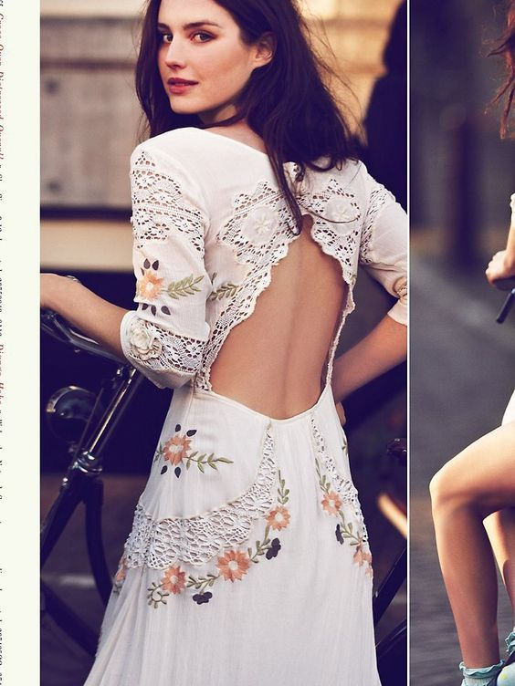 Free People Mexican Dress