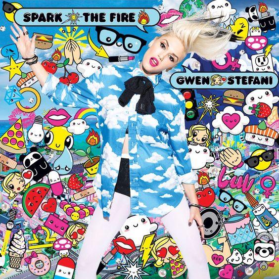 Gwen Stefani – Spark the Fire (single cover art)