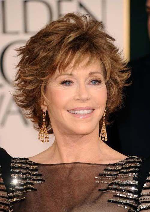 30 Stilvolle Und Charmante Jane Fonda Frisuren Hair Style Short Damen Haare Frisuren Frisur Wellen Kurz Haarschnitt Kurz