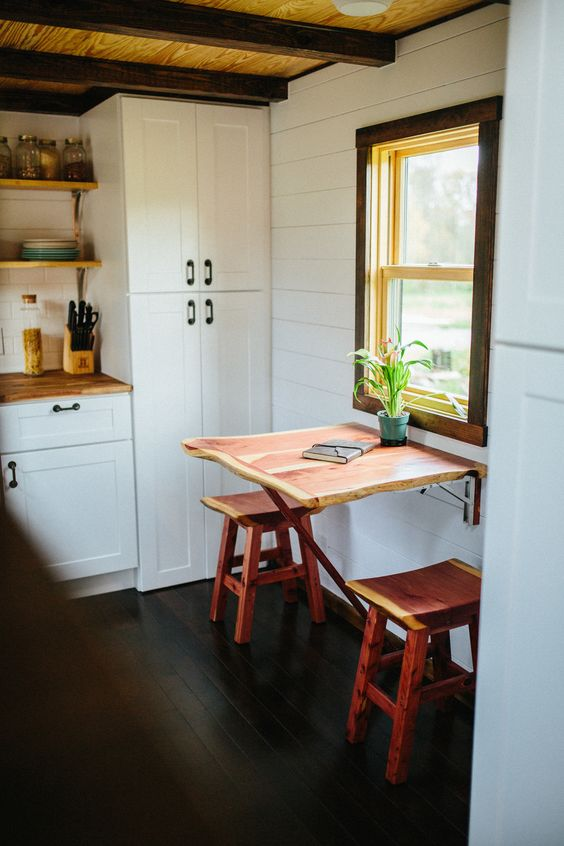 A high-end tiny home built by Wind River Tiny Homes in Tennessee.