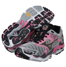 Mizuno Women's Wave Nirvana 8 Running Shoe - Dick's Sporting Goods    Because we all know I won't be able to stick with a running/fitness plan unless the shoes are interesting.