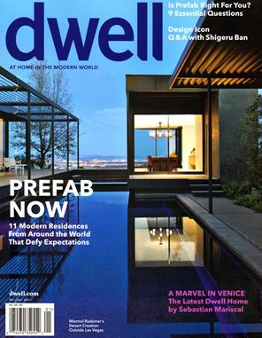 Home prefab homes and magazines on pinterest for Dwell prefab homes cost