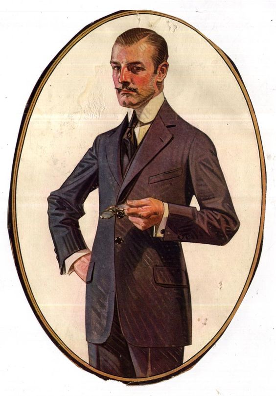 Costumes (J.C. LEYENDECKER's Illustration)