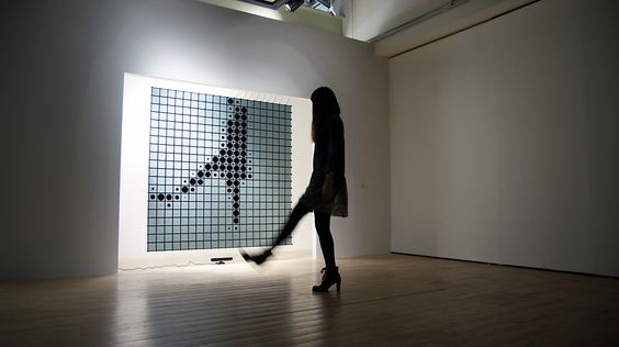 This Giant Interactive Mirror Turns Viewers Into Pixels | Co.Design | business + design