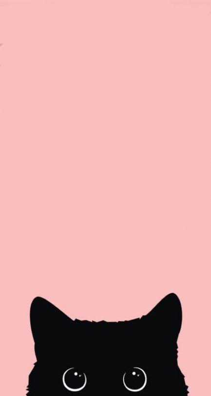 Wallpaper Pink Cat 41 Super Ideas Cute Cat Wallpaper Wallpaper Iphone Cute Aesthetic Iphone Wallpaper