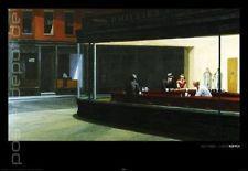 Poster Kunstdruck Edward Hopper Nighthawks Bar Nacht