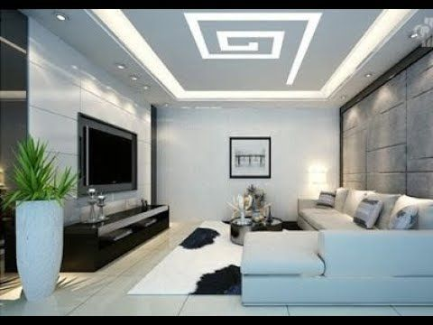 Latest Modern Living Room Small House Low Budget Ceiling Design Wowhomy