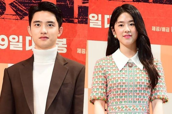 """EXO's D.O. And Park Hye Soo Talk About A Painful Kiss Scene In """"Swing Kids"""""""