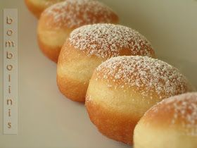 Bocados dulces y salados: BOMBOLINIS... (bomboloni)