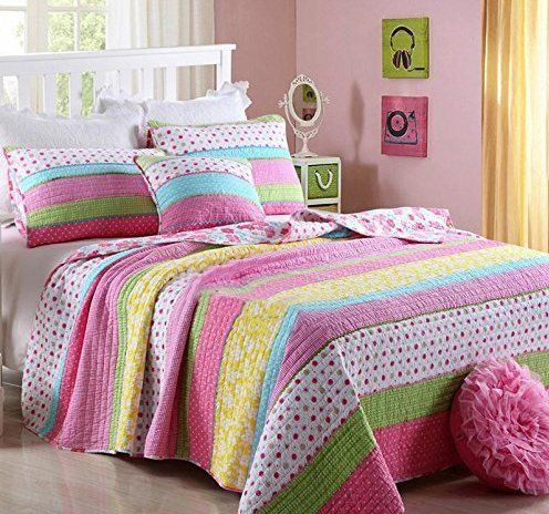 hnnsi 2 piece kids girls comforter