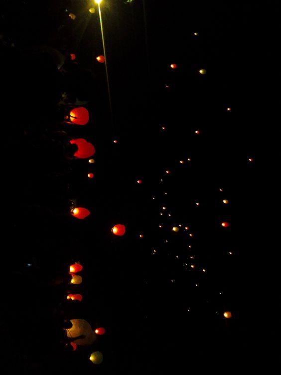 Sky Lanterns <3