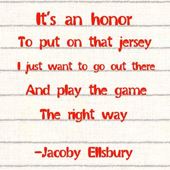 JACOBY ELLSBURY #22