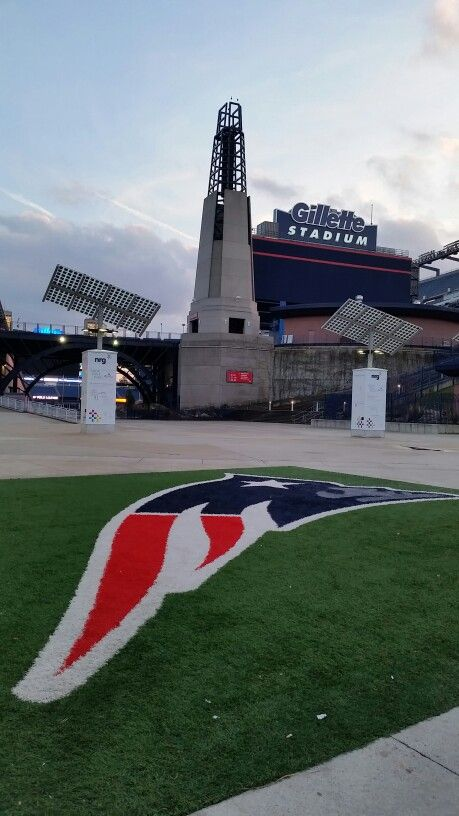 Gillette Stadium the tower