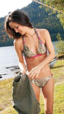Realtree Girl® Junior Realtree Max-1® Halter Swim Top