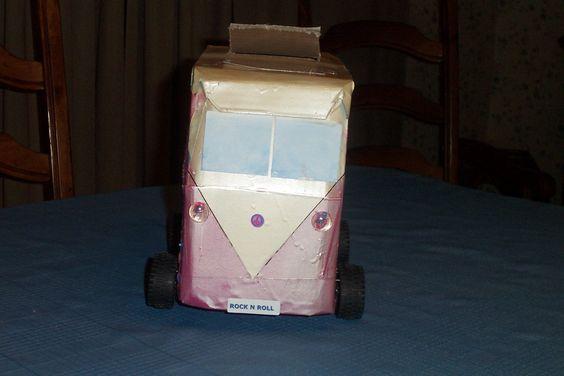 VW Van Valentine box.