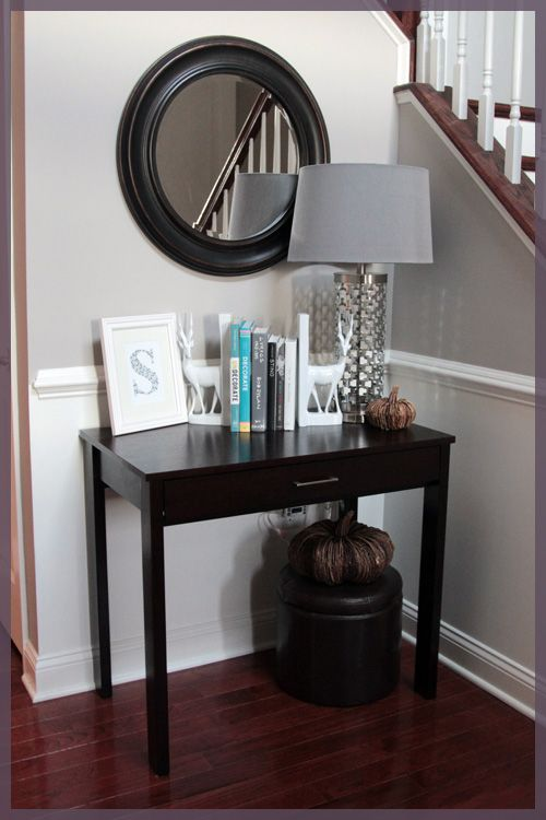 Foyer Chair Rail : Chair railing entry ways and lady on pinterest
