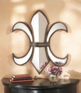 Fleur De Lis Mirror Wall...OMG - I love this!!