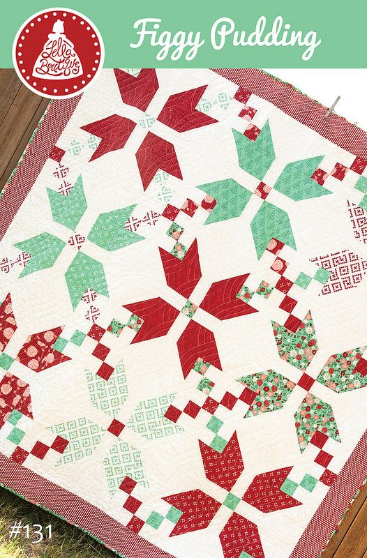 Free Quilt Patterns Moda Fabrics : FREE Figgy Pudding quilt pattern by Vanessa Goertzen of Lella Boutique. Fabric is Into the Woods ...