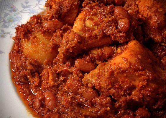 Rendang Ayam Nikmat Resep Di 2020 Resep Ayam Dan Masakan